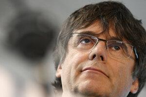 Katalánsky expremiér Carles Puigdemont.