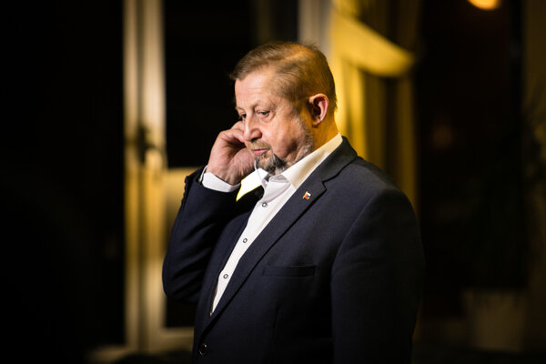 """Sudca Harabin počas prezidentskej kandidatúry rozprával o """"džendžeri""""."""