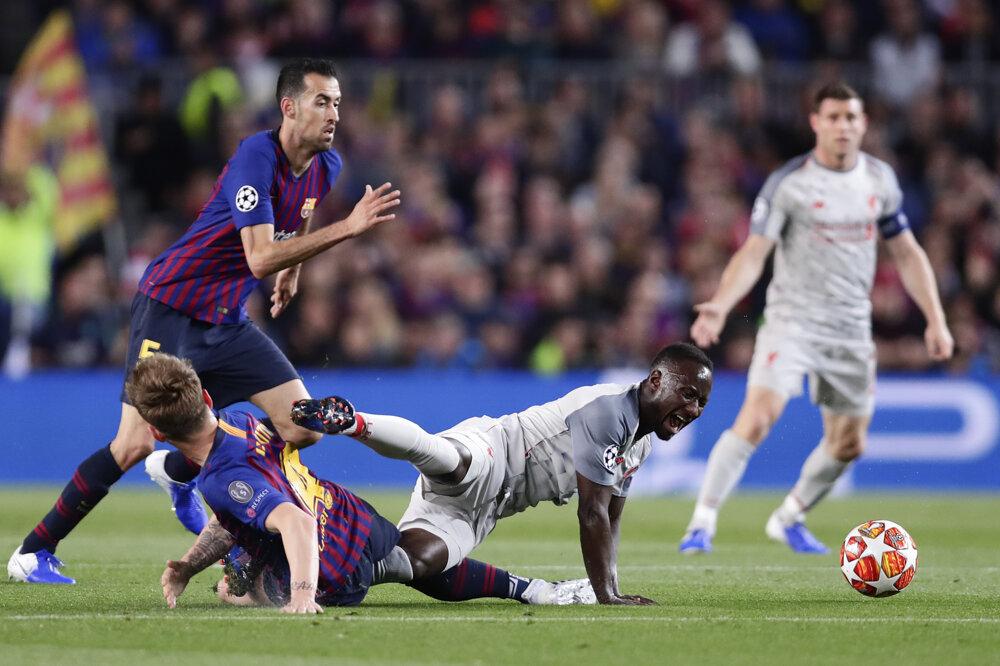 1de66df2fc Liga majstrov - semifinále  Najlepšie momentky zo zápasu FC Barcelona - FC  Liverpool
