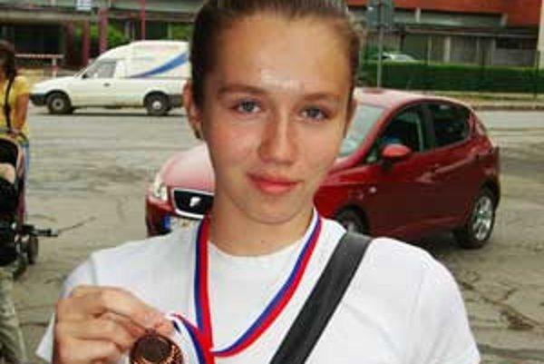 Zásluhou Andrey má rimavskosobotský volejbal po veľmi dlhom čase zastúpenie v reprezentácii.