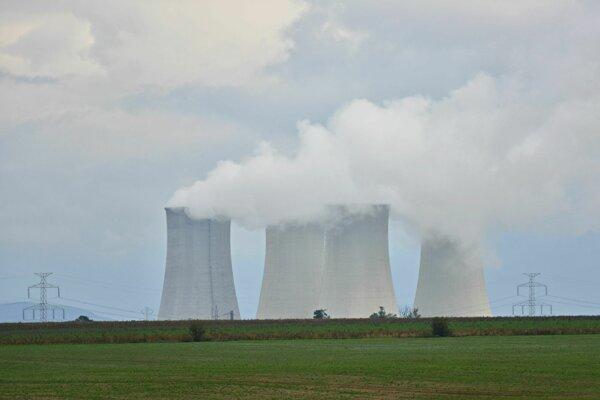 Jadrová elektráreň v Jaslovských Bohuniciach.