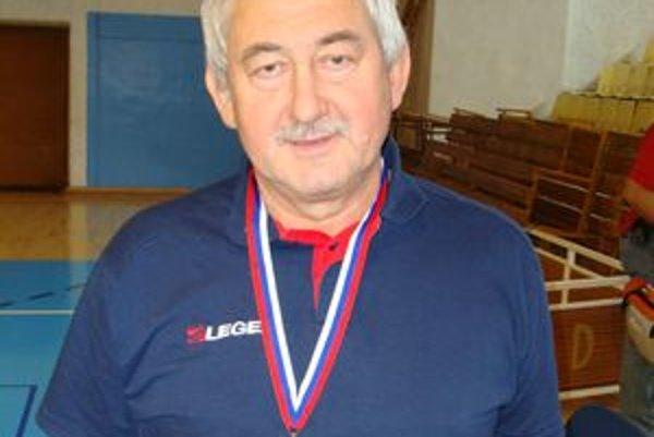 Jaroslav Štrba, tréner kadetského tímu MVK Poltár.