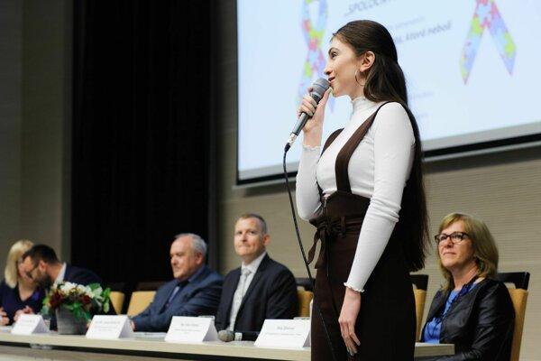 Konferencia sa venovala téme autizmu.