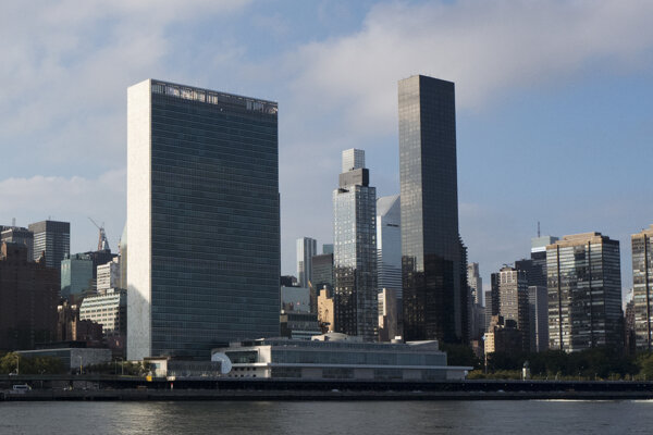 Trump World Tower je najvyššou budovou v okolí sídla OSN.