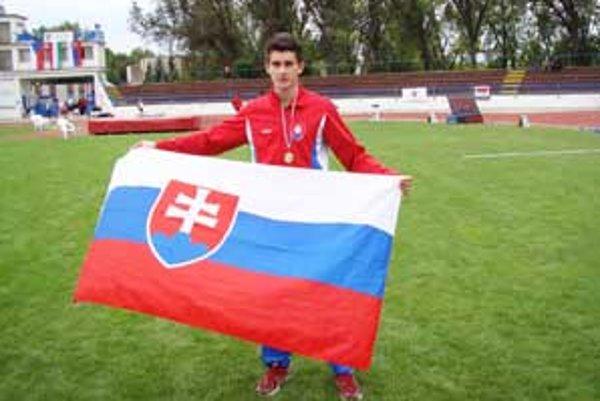 Tomáš Veszelka - najúspešnejší atlét lučeneckého MAC Redox.