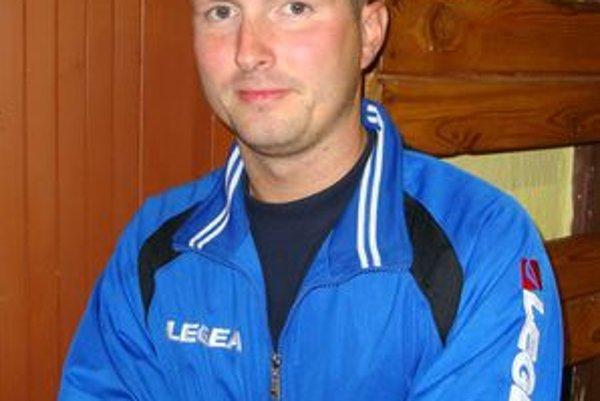 Jaroslav Adámek, tréner a predseda STK Lučenec–Kalinovo.