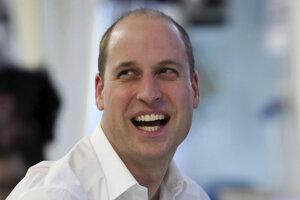 2. Princ William, vojvoda z Cambridge, syn princa Charlesa, narodený v roku 1982.