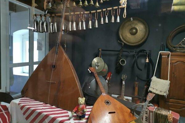 Interaktívne hudobné múzeum v Spišskom Hrhove.