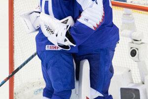 Tomáš Tatar (vľavo) objíma Patrika Rybára po víťazstve v zápase Slovensko - USA na MS v hokeji 2019.