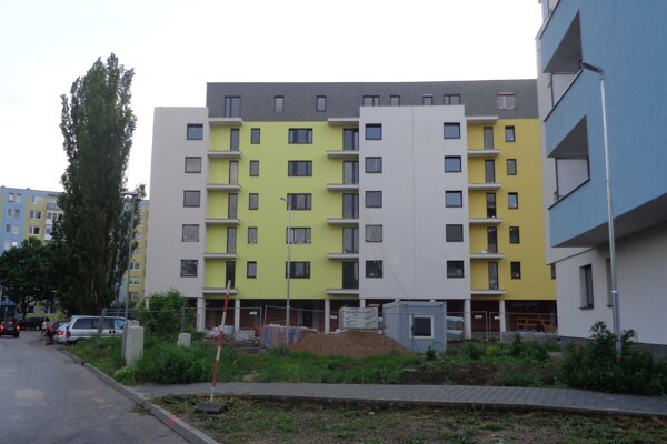 Nové nájomné byty na Kráľovskej ulici v Šali.