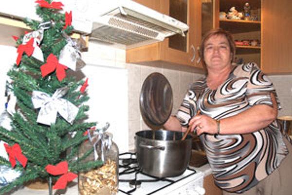 V rodine Margity Sedliakovej, starostky Boľkoviec, nesmie chýbať na vianočnom stole kapustnica s hríbami.