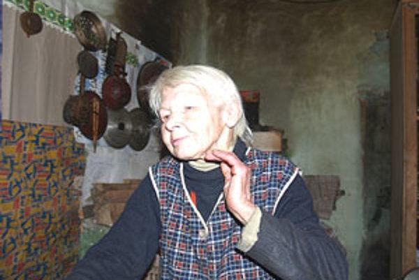 Jolana Vaculčiaková prežila celý svoj život na lazoch zvaných Sebediná.
