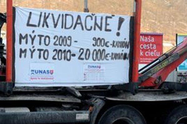 Najväčšiu podporu mala petícia dopravcov v Poprade, Ružomberku, Lučenci, Topoľčanoch a čiastočne v Košiciach.