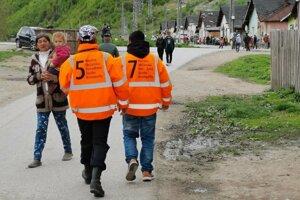 Členovia MOPS majú prirodzenú autoritu v rómskych lokalitách.