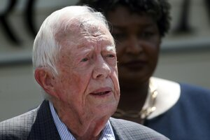 Americký exprezident Jimmy Carter.