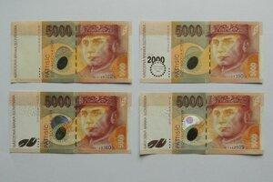 Pamätáte sa na ne? Bankovky v hodnote 5000 Sk.