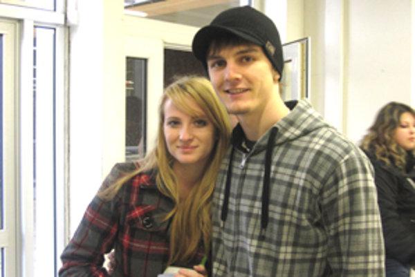 Matej Kminiak a Soňa Kružliaková oslavujú Valentína spolu už druhý rok.