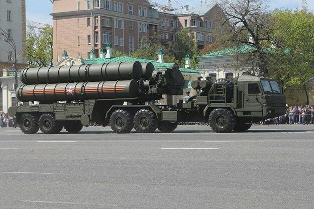 Systém protivzdušnej obrany S-400.