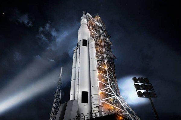 Táto raketa NASA by nás mohla dopraviť na asteroidy, Mesiac aj Mars.