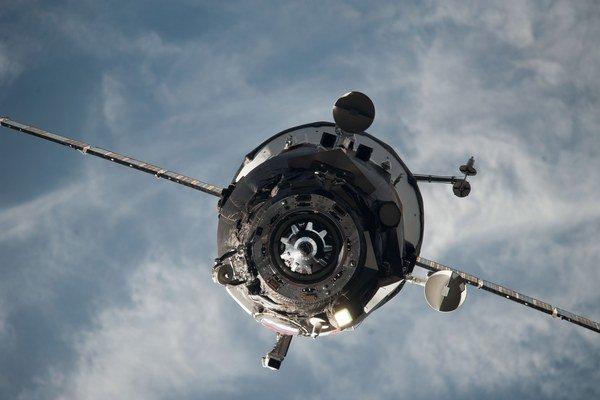 Kozmická loď Progress.
