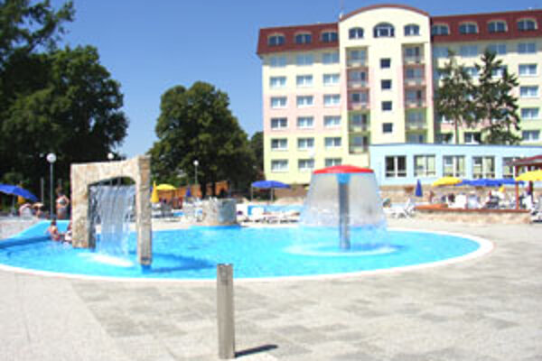 Kúpele a letné kúpaliskom prilákajú ročne množstvo návštevníkov