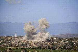 Región sa v uplynulých mesiacoch opäť stal terčom stupňujúcich sa náletov zo strany sýrskeho režimu i Moskvy.