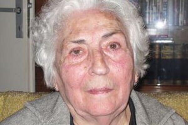 Kornélia Wirtschafterová bola jednou z obetí holokaustu. O tom, čo v koncentračnom tábore prežila, otvorene rozprávala.