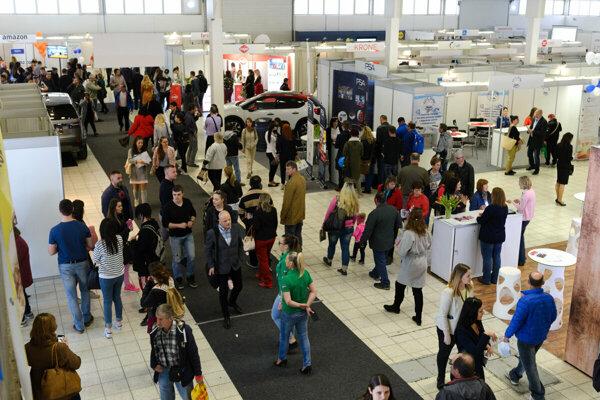 Burza je sprievodným podujatím Medzinárodného strojárskeho veľtrhu na výstavisku Agrokomplex.