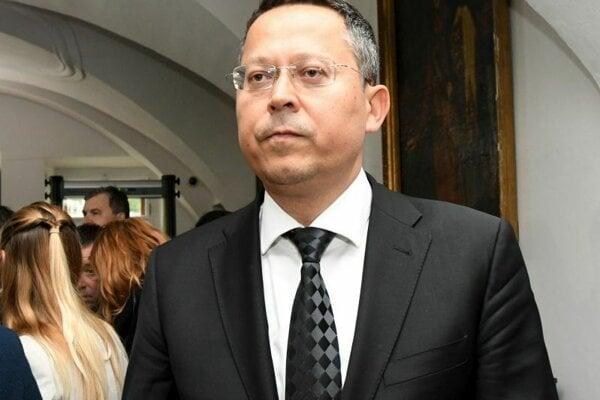 Minister financií SR Ladislav Kamenický.