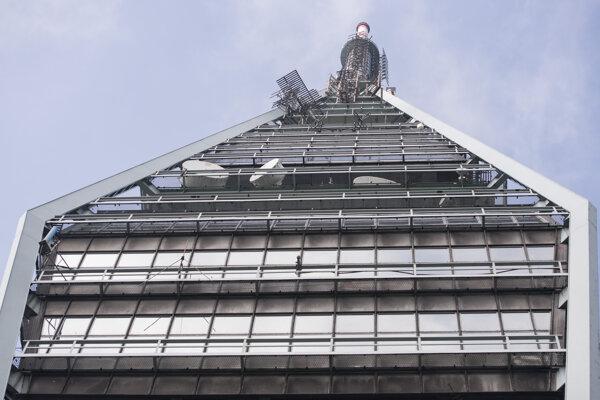 Vysielacia veža Kamzík.