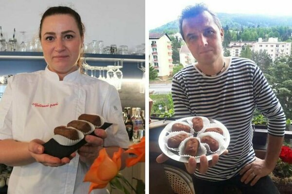 Cukrárka Miroslava má zákusok v ponuke. Martin Varhaňovský  plánuje retro cukrárenskú výrobňu ako atrakciu pre turistov.
