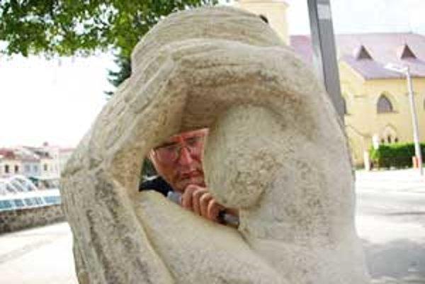 Doteraz najväčšia socha Juraja Kepku meria dva a pol metra.