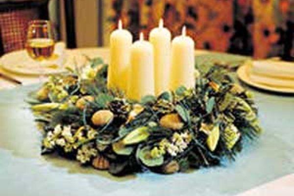 Dnes sa na adventnom venci rozsvieti i štvrtá sviečka.