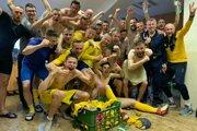 Obrovská radosť z titulu a z postupu do Fortuna ligy.