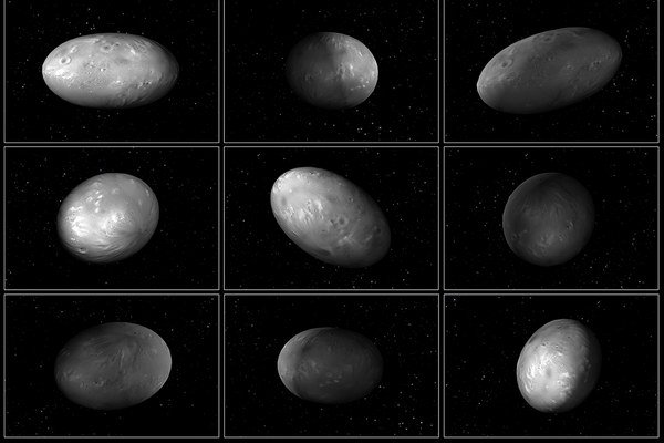 Mesiac Nix sa pri obiehani dvojplanétey Pluto-Cháron nepredvídateľne otáča okolo svojej osi.