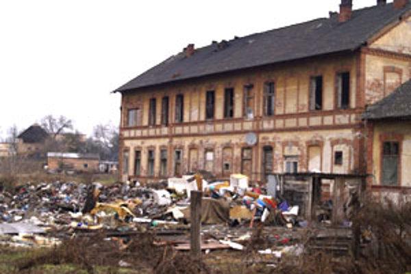 Parný mlyn. To je boľavé miesto okresného mesta Lučenec.