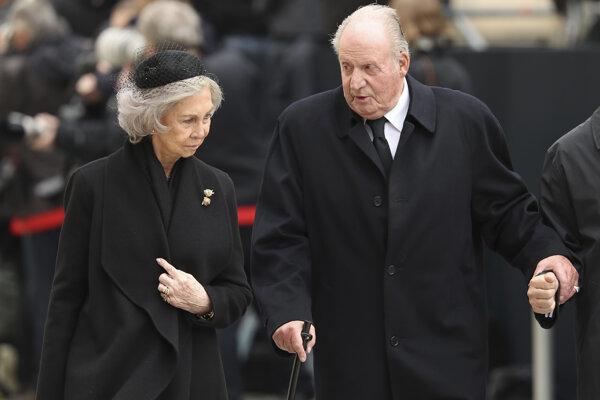 Bývalý španielsky kráľ Juan carlos I. a bývalá španielska kráľovná Sofia.