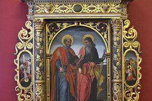 Celkový pohľad na oltár