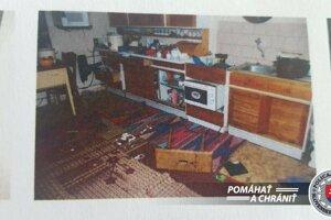 Polícia zverejnila fotografie z vyšetrovania