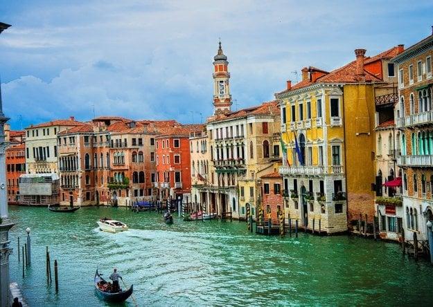 Canal Grande, Benátky.