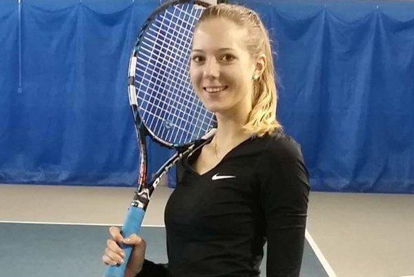 Tenistka Ľubomíra Grossertová.