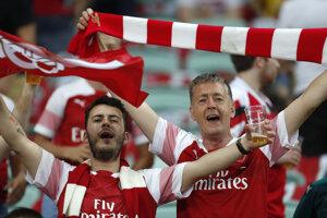 Fanúšikovia Arsenalu.