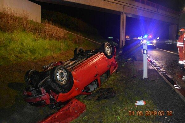 Nehoda na diaľnici v Poprade si vyžiadala jednu obeť.