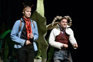 Najmenších divákov poteší predstavenie Ferdo Mravec.