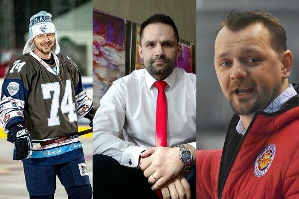 Ladislav Čierny, Miroslav Brumerčík a Andrej Podkonický