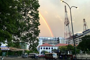 Ráno v Colombo.