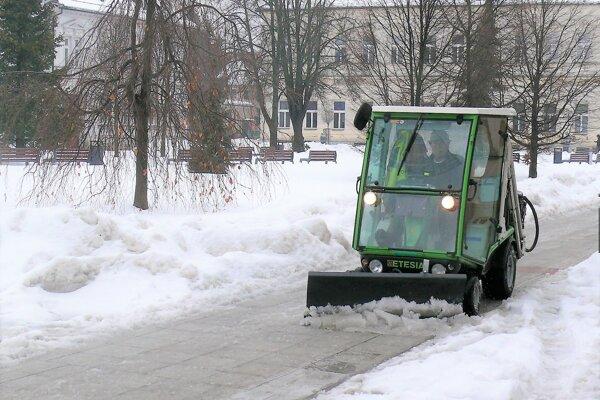Najmä január nebol na snehovú nádielku skúpy.