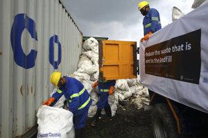 Odpad z Everestu.
