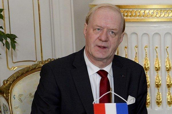 Veľvyslanec Holandského kráľovstva v SR Richard van Rijssen.