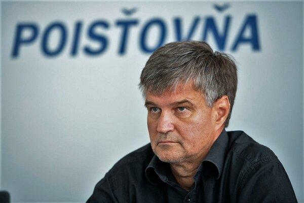 Peter Višváder, hovorca Sociálnej poisťovne.